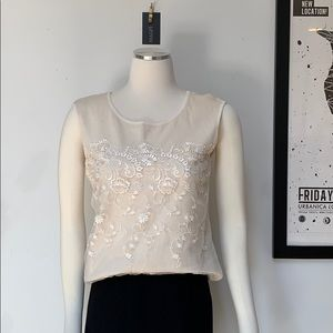 ESCADA Vintage Cashmere & Silk Tank / Sweater